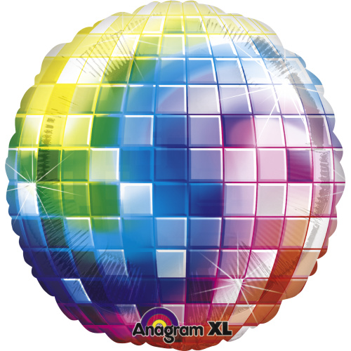 Balónik fóliový Disco guľa