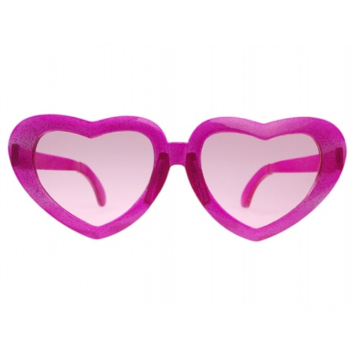 Okuliare Jumbo srdce ružové - mojaparty.sk d0514ad05f6