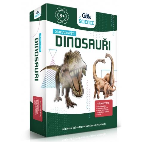 "HRA s českým názvom ""Dinosauři Objevuj svět"" (Dinosaury Objavuj svet)"
