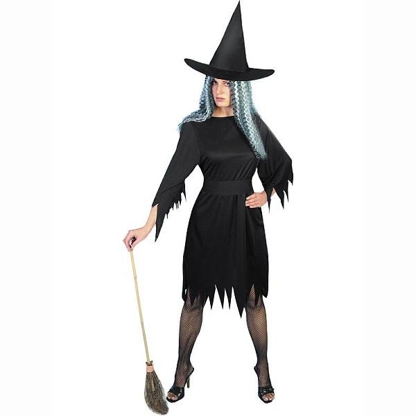 KOSTÝM Čarodejnica čierny