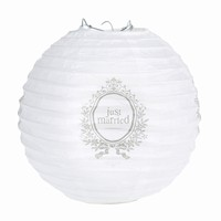 Lampion Just Married 20cm/2ks