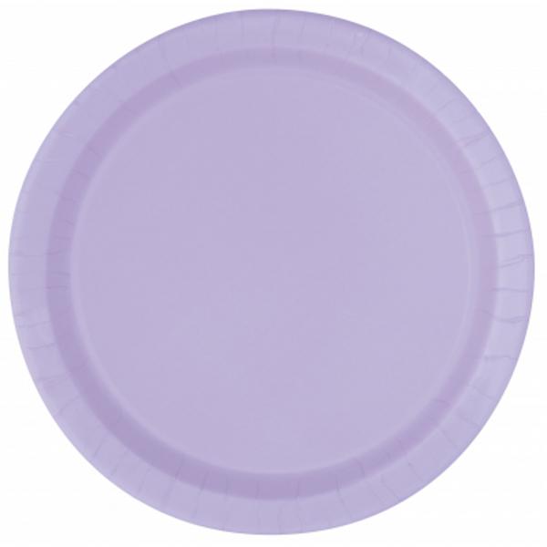 Taniere papierové guľaté Lavender