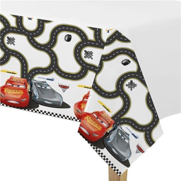 Ubrus plastový Cars 3 1ks