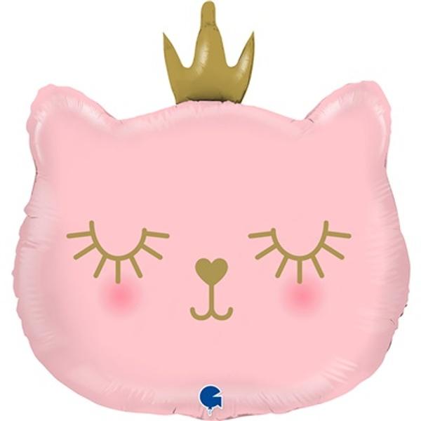 BALÓNIK fóliový Mačacia princezná 66cm