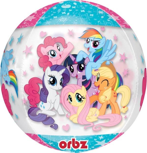 BALÓNIK fóliový ORBZ My Little Pony