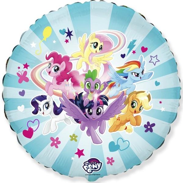 BALÓNIK fóliový guľatý My Little Pony 45cm