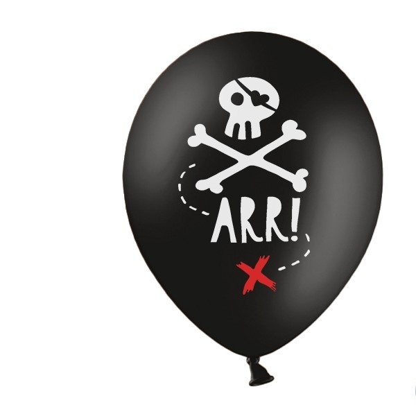 BALÓNIKY 50ks latexové Pirátska párty
