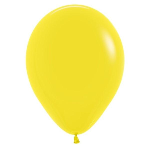 BALÓNIKY SEMPERTEX - pastelové žlté 30 cm 50ks