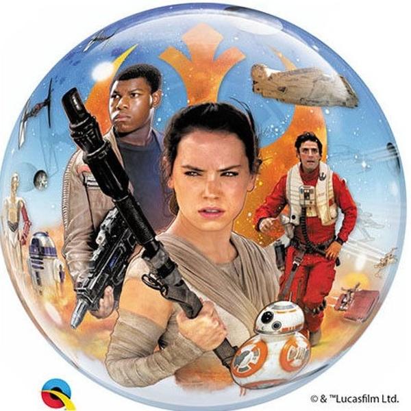 BALÓNOVÁ BUBLINA Star Wars The Force Awakens