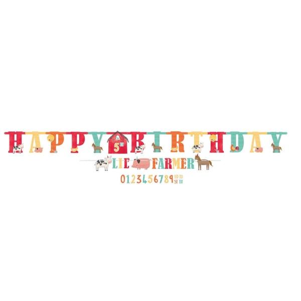 BANNER Happy Birthday Na statku 304C / 182cm