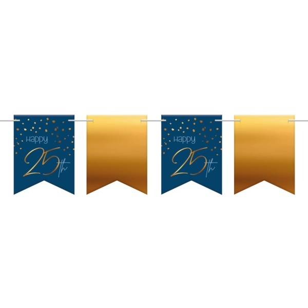 BANNER vlajočkový Elegant True Blue 25
