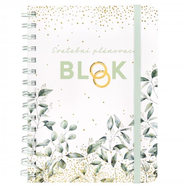 BLOK Svadobný plánovacie Listy