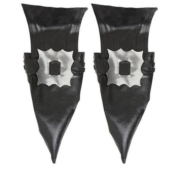 DEKORÁCIA čarodejnícka na topánky kožený vzhľad