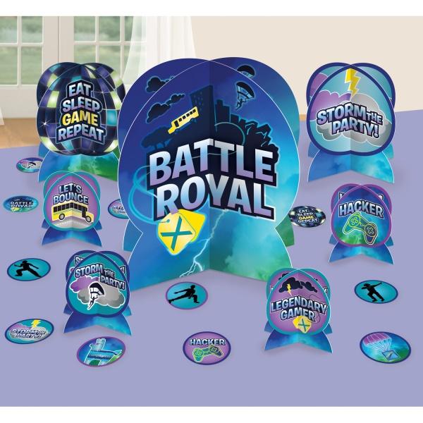 DEKORÁCIE na stôl Battle Royal 27ks
