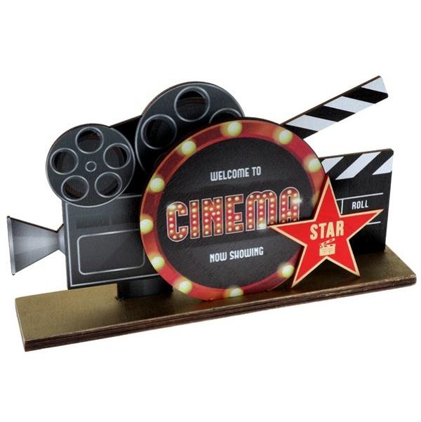 DEKORÁCIA na stôl Cinema