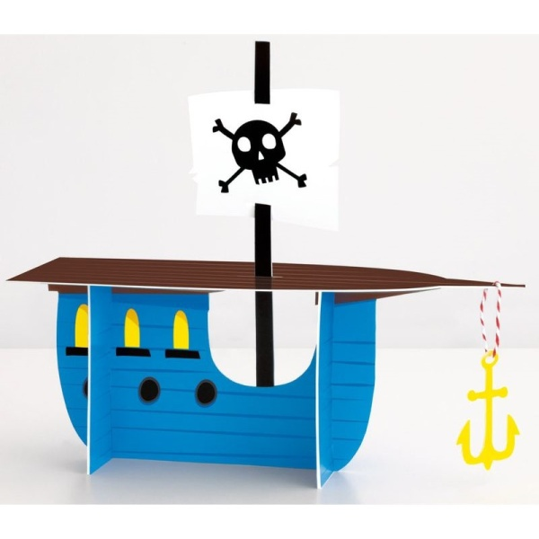 DEKORÁCIA na stôl Pirátska loď