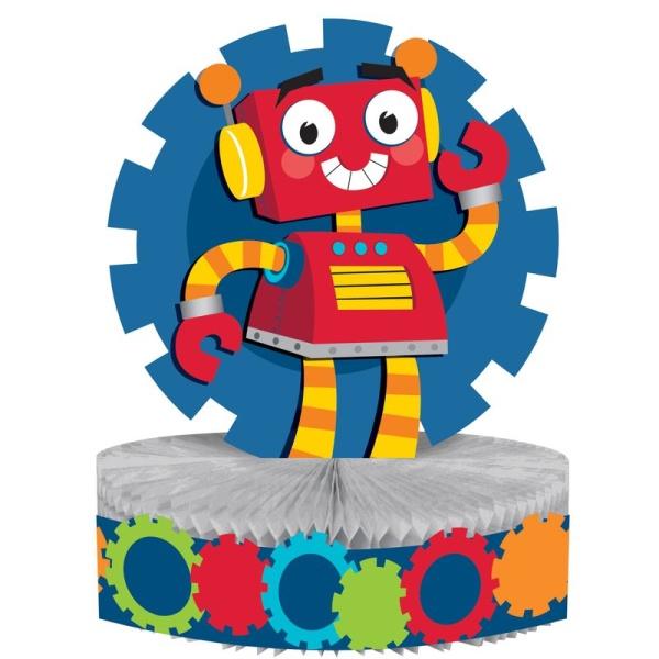 DEKORÁCIA na stôl Robot 23x30cm
