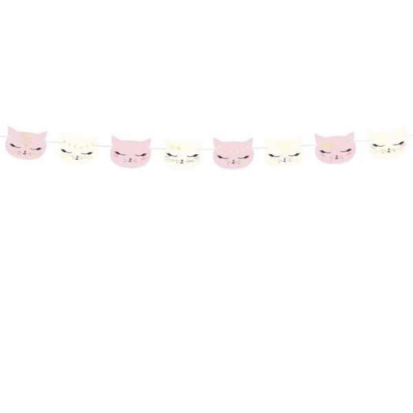 GIRLANDA Mačka 140cm 1ks