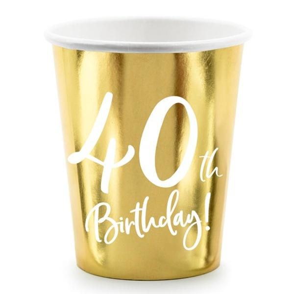 KELÍMKY 40. narodeniny zlaté 220ml