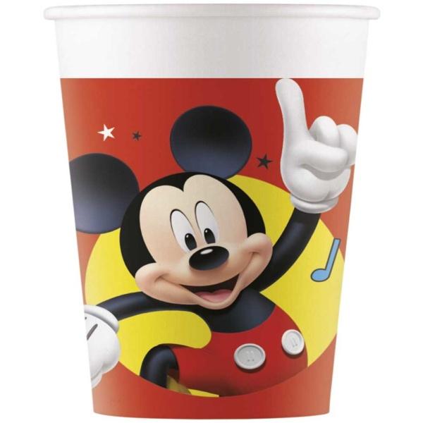 KELÍMKY papierové Mickey pals at play 8ks