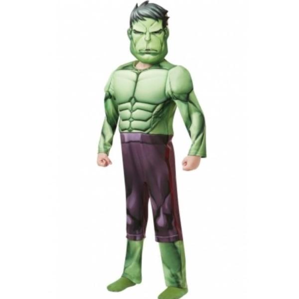 KOSTÝM Hulk Deluxe vel.L (7-8 rokov)