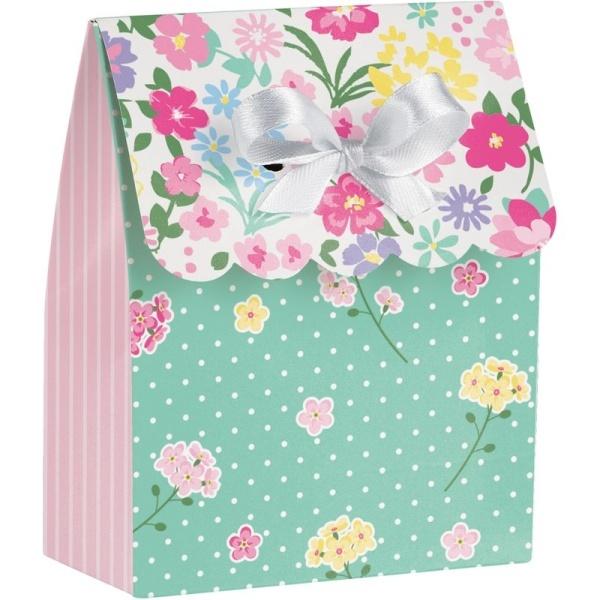 KRABIČKA darčeková Kvetinová víla 8,6x11,2cm 6ks
