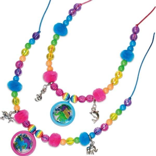 KREATÍVNA SADA Výroba náhrdelníku s medailónikom