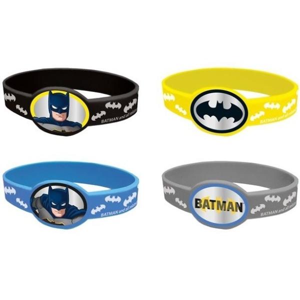 NÁRAMKY pružné Batman 4ks