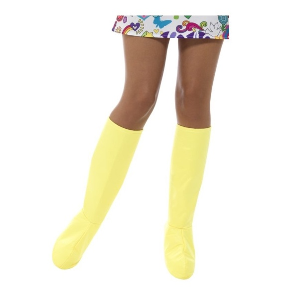 NÁVLEKY na topánky Gogo žlté