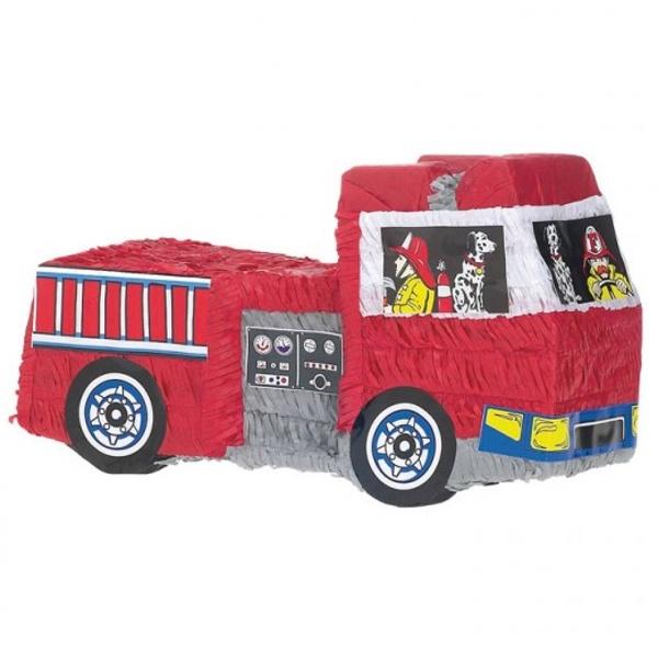 PIŇATA Hasičský voz 50x28,5x18cm