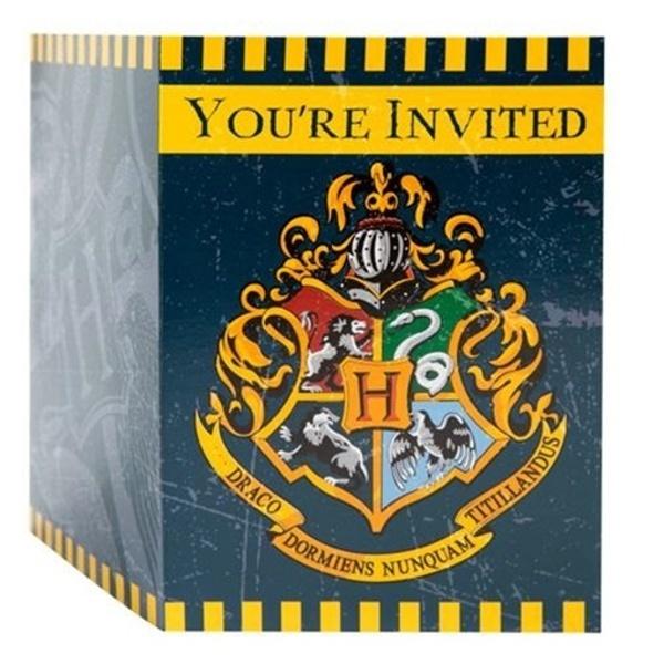 POZVÁNKY Harry Potter 8ks