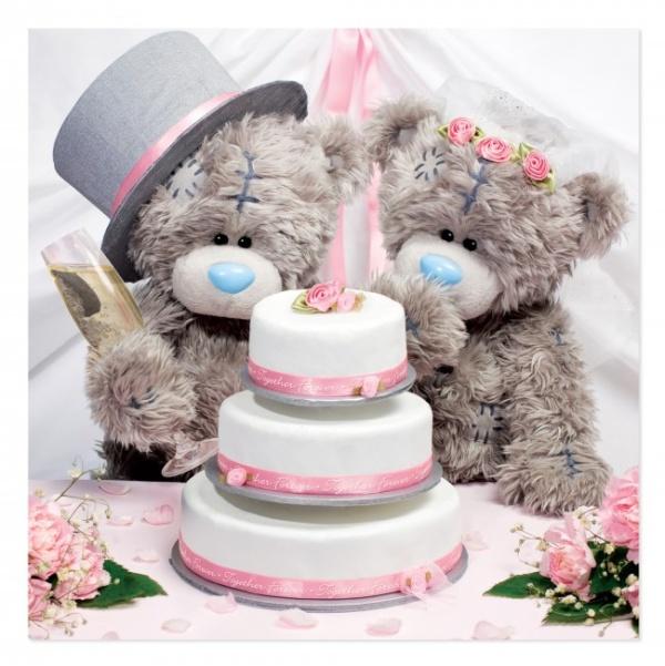 ŽELANIE svadobné Me to You s tortou 3D