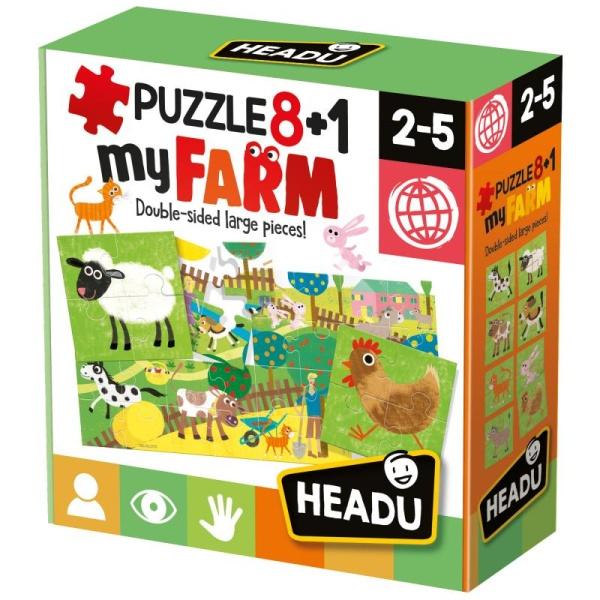 PUZZLE Moja farma 8 + 1PUZZLE Moje farma 8 + 1