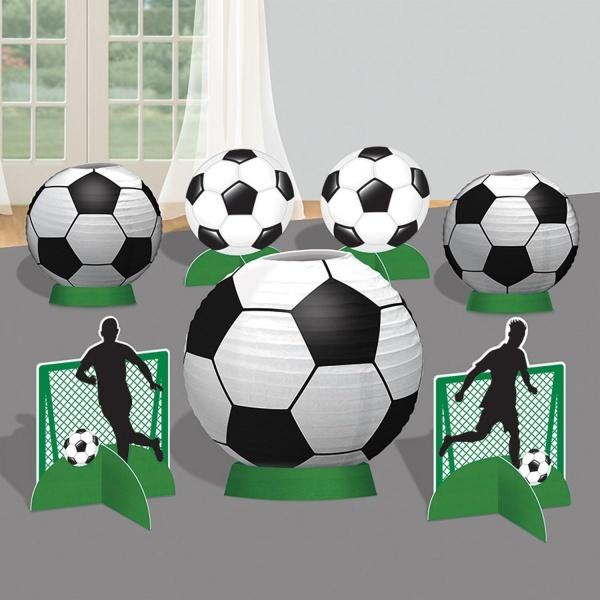 SET dekorácií na stôl Futbal