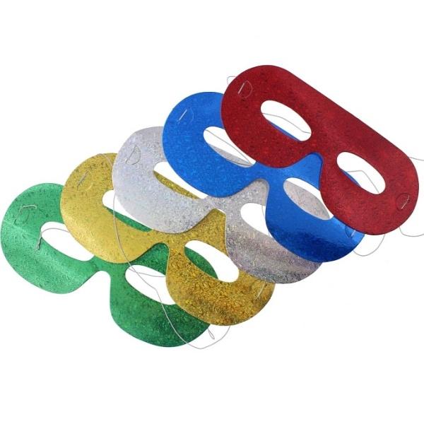 ŠKRABOŠKY papierové holografické 5ks