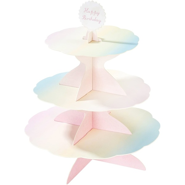 STOJAN na cupcakes Pastel 30x37,5cm
