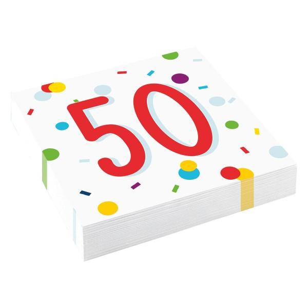 SERVÍTKY 50 konfety