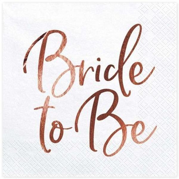 OBRÚSKY Bride to be ružové zlato