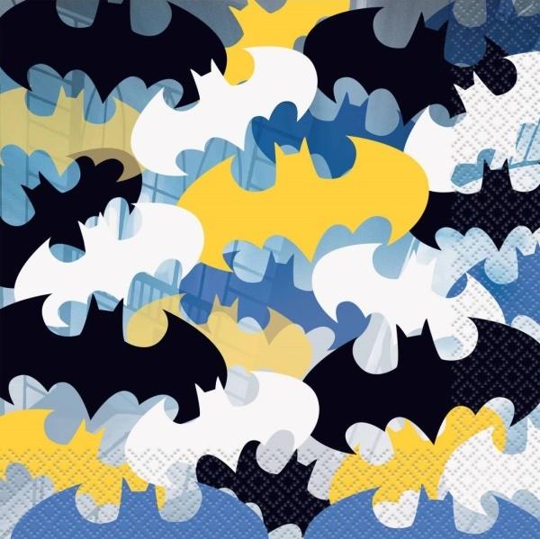 SERVÍTKY Batman 16 ks 33x33 cm