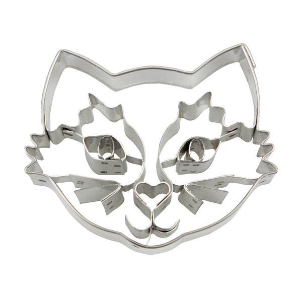 VYKRAJOVÁTKO Hlava mačky s reliéfom 6cm