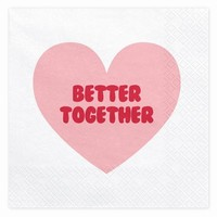 UBROUSKY BETTER TOGETHER 33X33cm