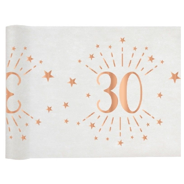 ŠERPA NA STÔL Sparkling 30. narodeniny 30cmx5m
